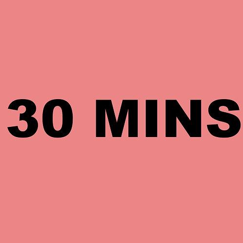 30 Minute 1 Credit