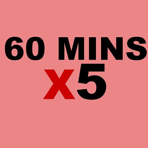 60 Minute 5 Credits