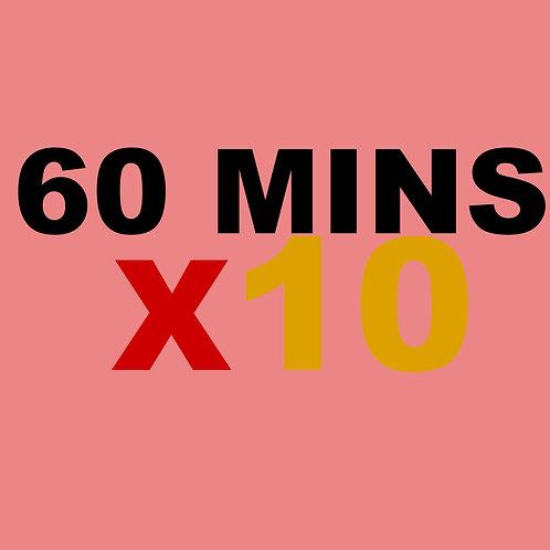 60 Minute  10 Credits