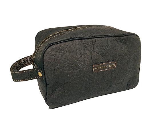 Mens Toiletry Bag - Pineapple Leather