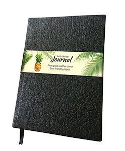 black pineapple leather journal.jpg