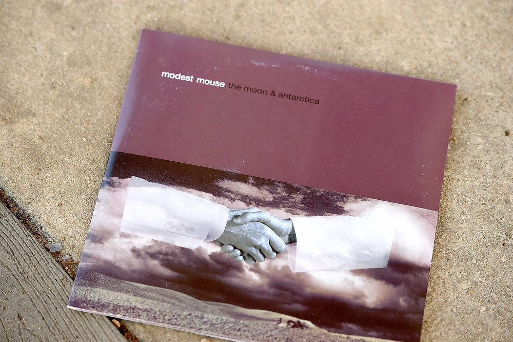 "A music blogger features ""The Moon & Antarctica"" by Modest Mouse."