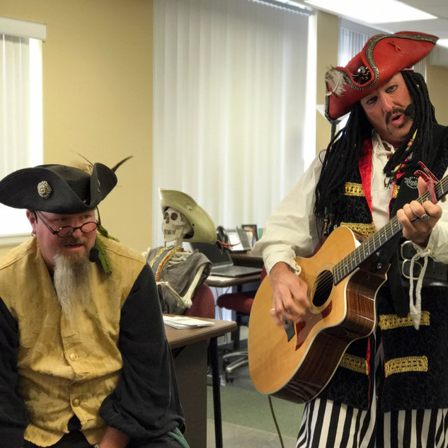 Captain Davy and the Crossbones