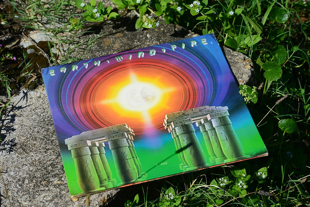 "A music blogger features the ""I Am"" vinyl record by Earth, Wind & Fire."