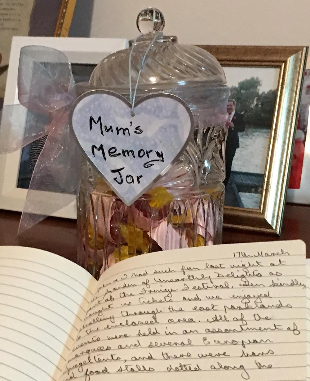 History from the Heart Memory Jar