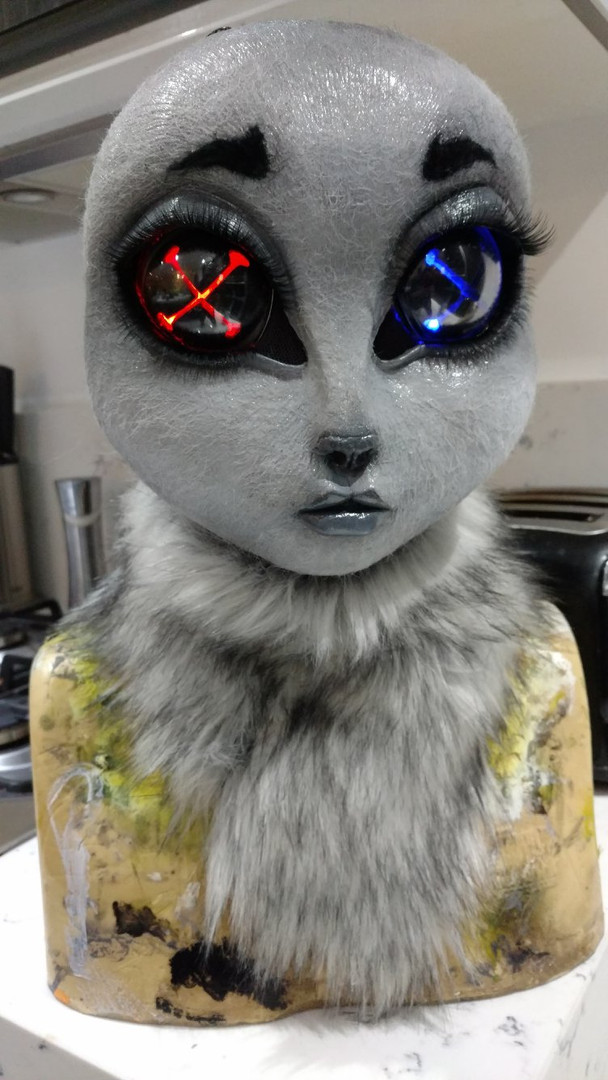 Animal doll mask
