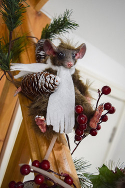 Xmas Brown Mouse