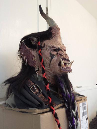 Custom Ogre bust