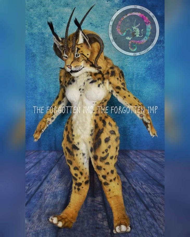Lynx Fursuit 2020