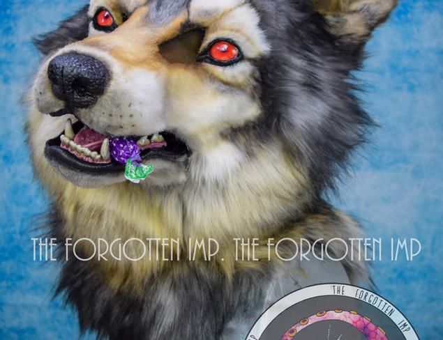 Grey Vampiric wolf
