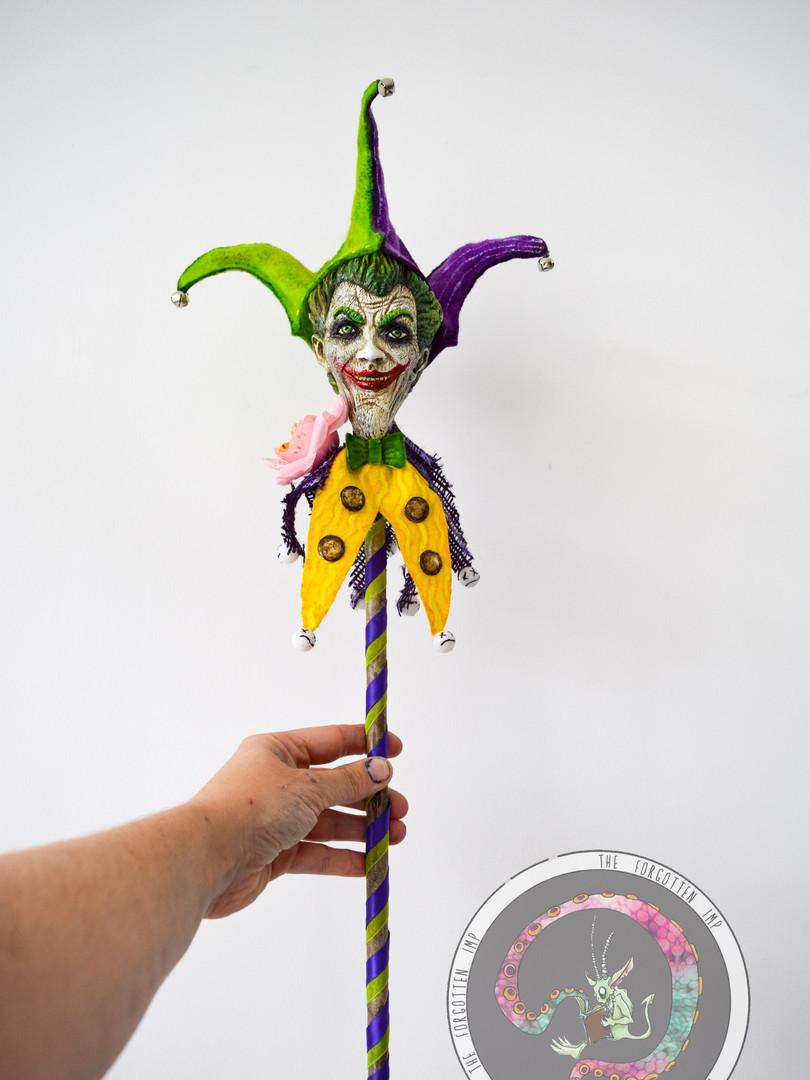 Joker Jester stick prop