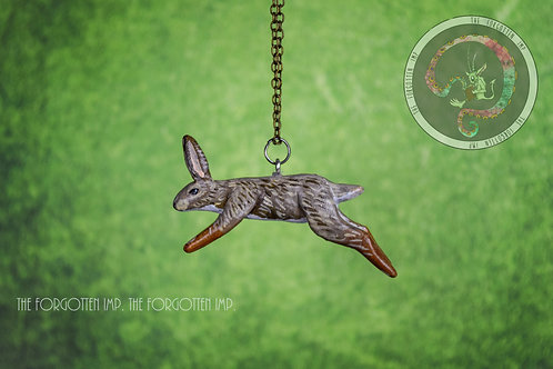 Rabbit Leaping Necklace