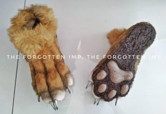 Lynx Costume Feet