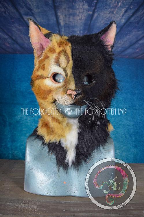 3/4 Wearable Custom Cat Head
