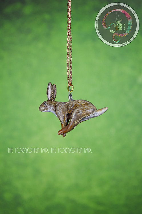 Rabbit Running Necklace