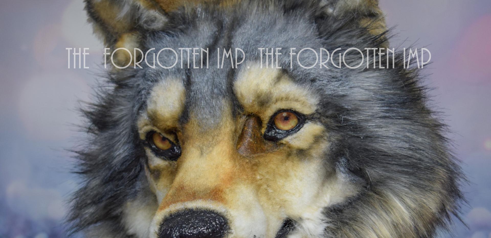 Timberwolf head