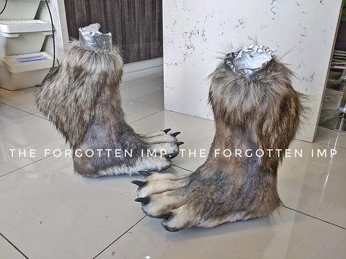CUSTOM made to order Digitgrade Animal Knee high legs/feet