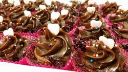Mini Cupcake de Brigadeiro