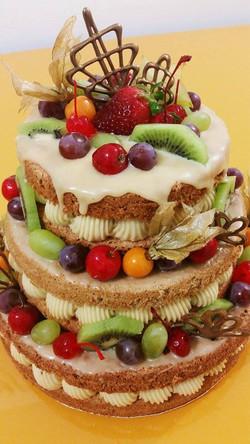 Bolo Naked Cake Indiano