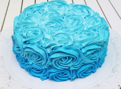 Smash the cake azul