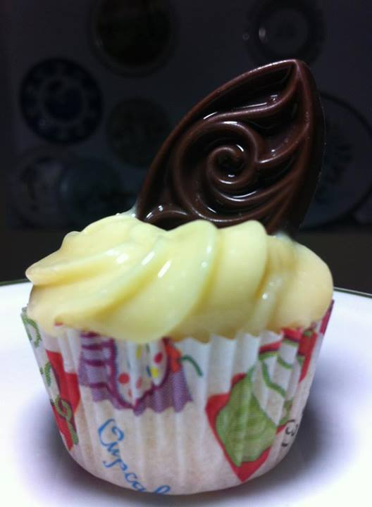 Mini Cupcake de Chocolate Branco