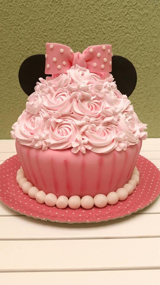 smash the cake Minnie