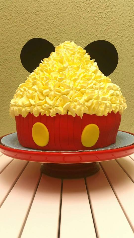 smash the cake mickey