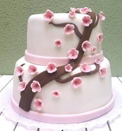 Bolo Flor de cerejeira