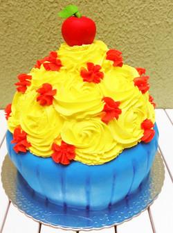 Smash the cake branca de neve