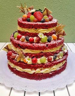 Naked Cake RedVelvet