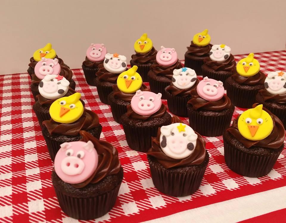 Mini Cupcake Fazendinha