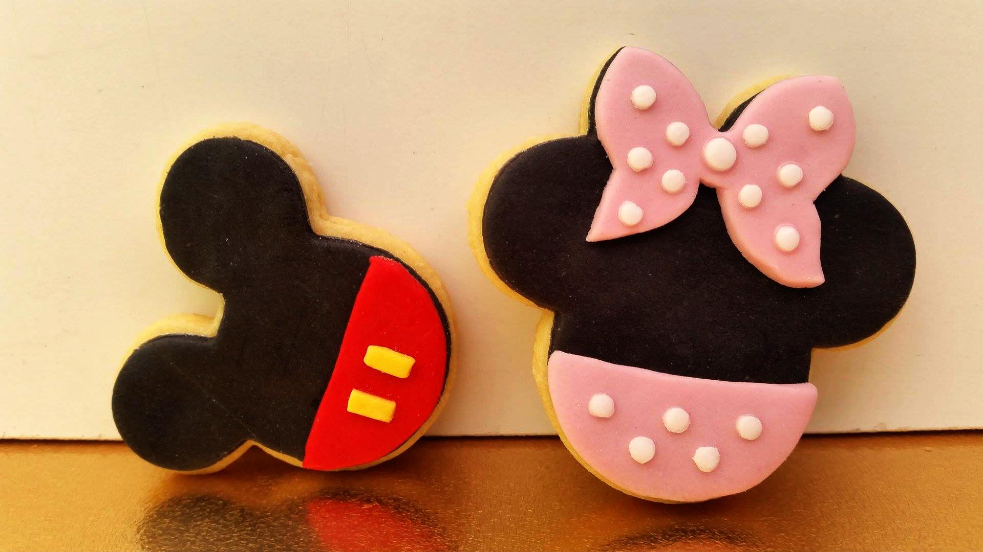 Bolachas Minnie e Mickey