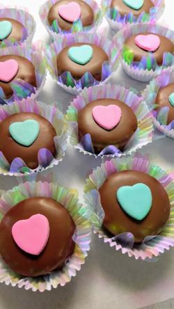 Mini Alfajor de chocolate