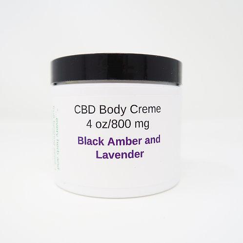 Body Cream 800mg 4oz