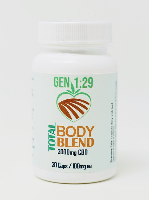 3000mg Total Body Iso Capsules