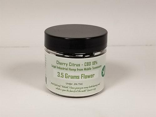 3.5 gm Cherry Citrus 18% CBD