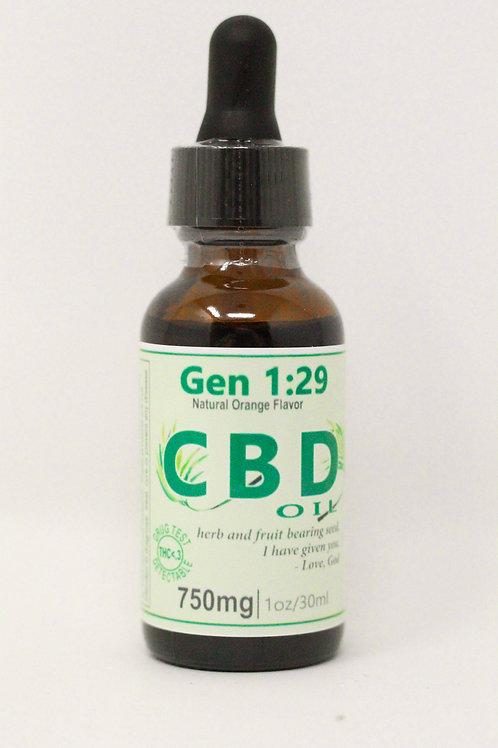 750mg Full Spectrum CBD Oil