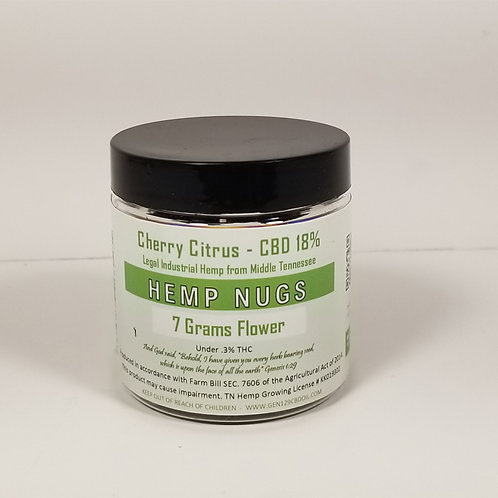 7 gm Cherry Citrus 18% CBD