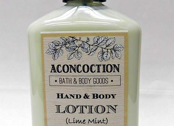 Lime Mint Hand & Body Lotion