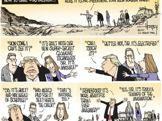Invisible Border Wall