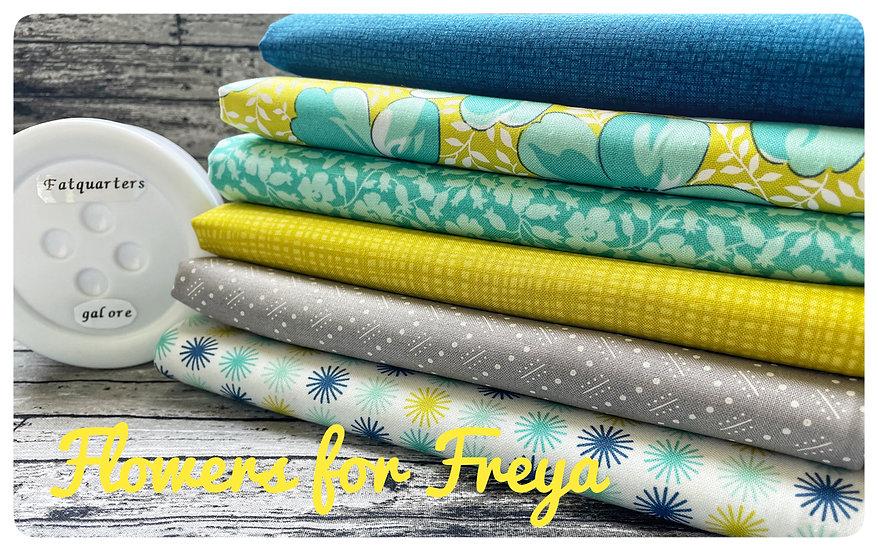 Flowers for Freya - Moda Fabrics