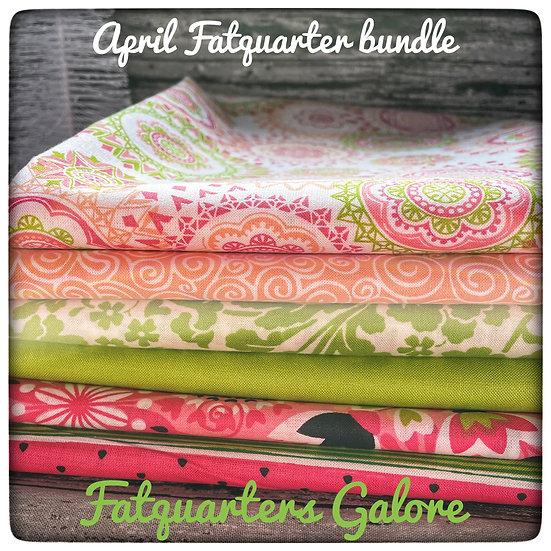 April Monthly bundle