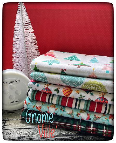 Gnome Ville' Christmas FQ bundle