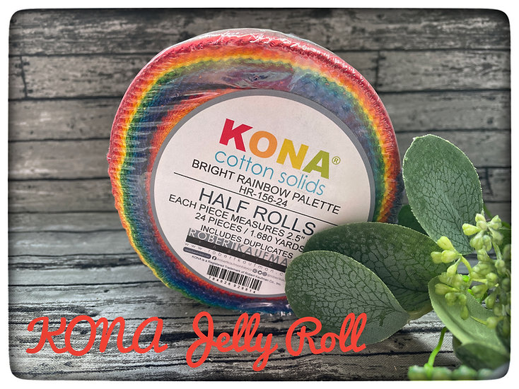 Kona Jelly Rolls (varies colors available)