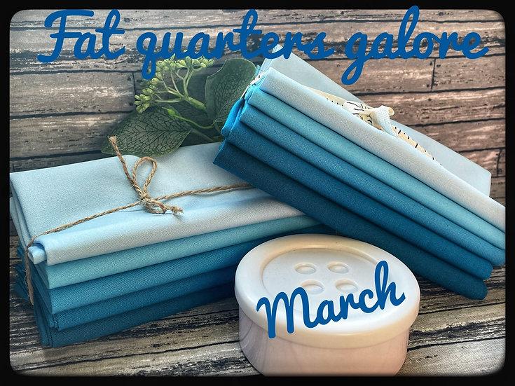 KONA March birthstone Aquamarine bundle