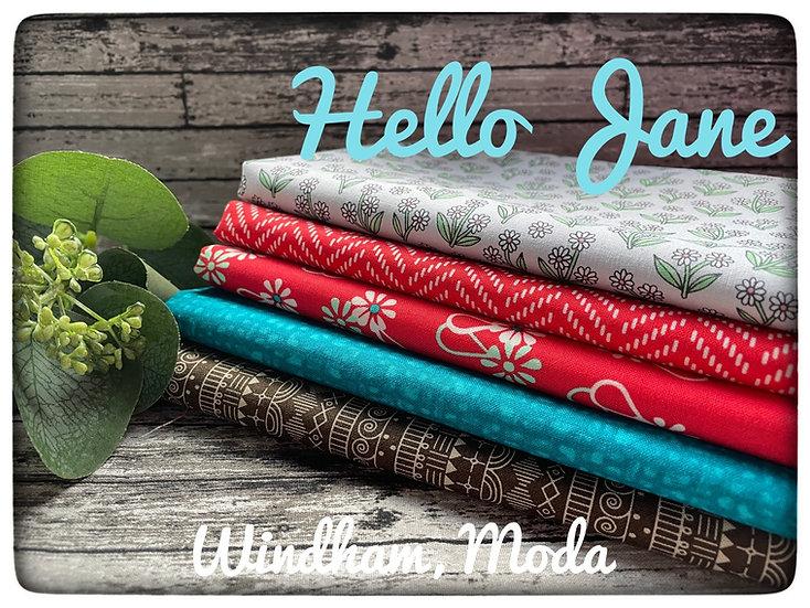 Hello Jane Fatquarter bundle