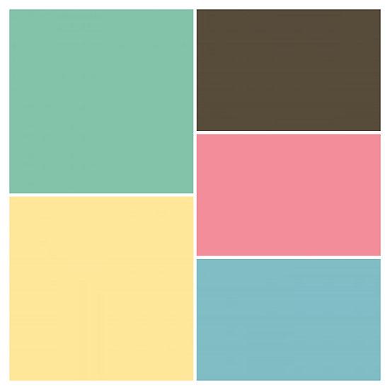Riley Blake Confetti solid colors