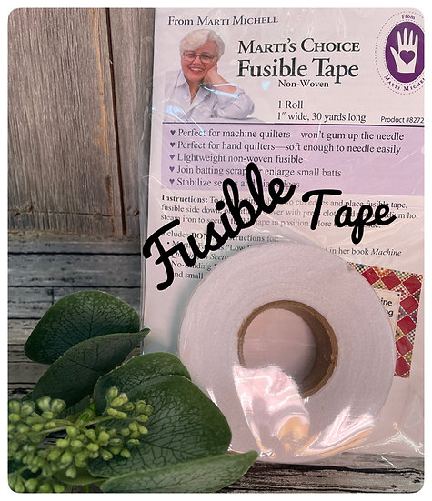 Fusible batting tape