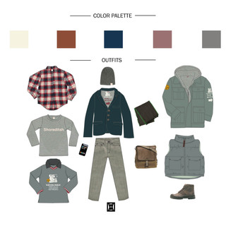 COLORSPALETTE&OUTFITS