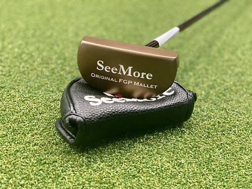 """SeeMore FGP Mallet Putter // 35"""""""